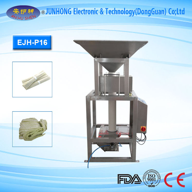 Pipe Metal Detector for Pasta Product Inspection