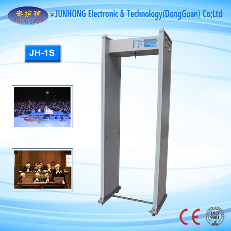 Walk Through Door Frame Metal Detector For Checkpoint