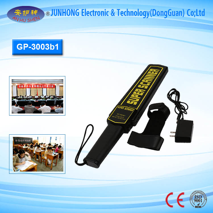 Hand Held Metal Detector Airport Body Scanner