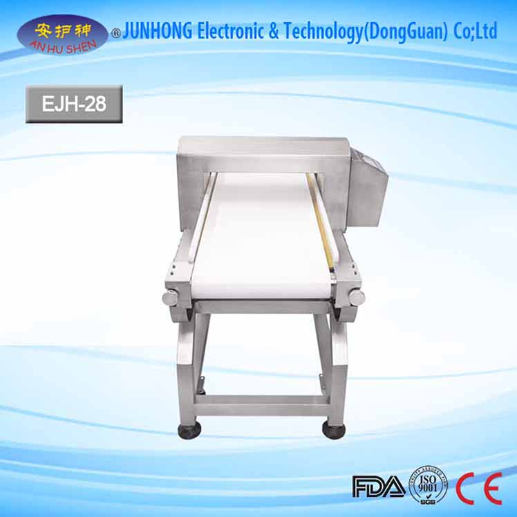 LCD Display Conveyor Metal Detector for Foil