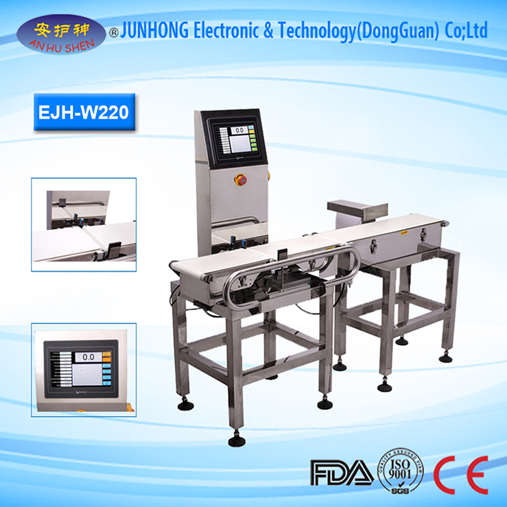 Various Functions Check Weigher Machine