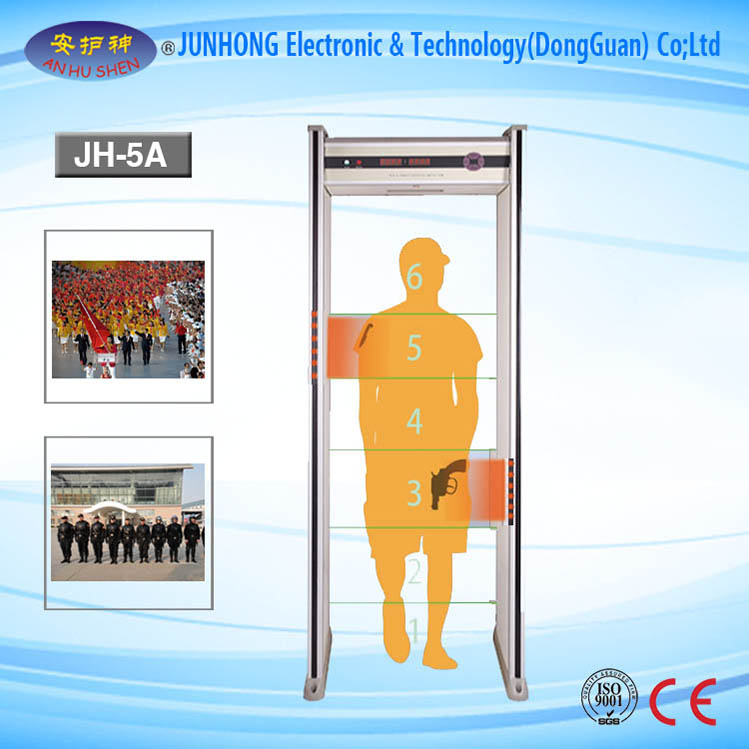 Electronic Walkthrough Metal Detector for Airport