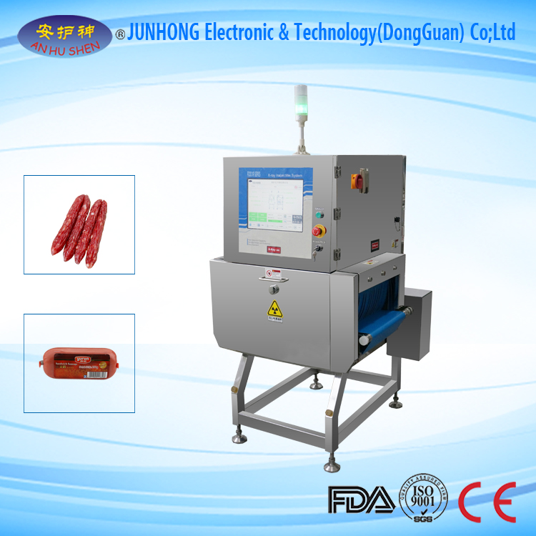 X-Ray Detector for Foreign Metal in Foodstuff