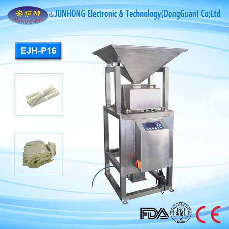 Pipe Metal Detector for Milk,Sauce,Pasta Product Inspection
