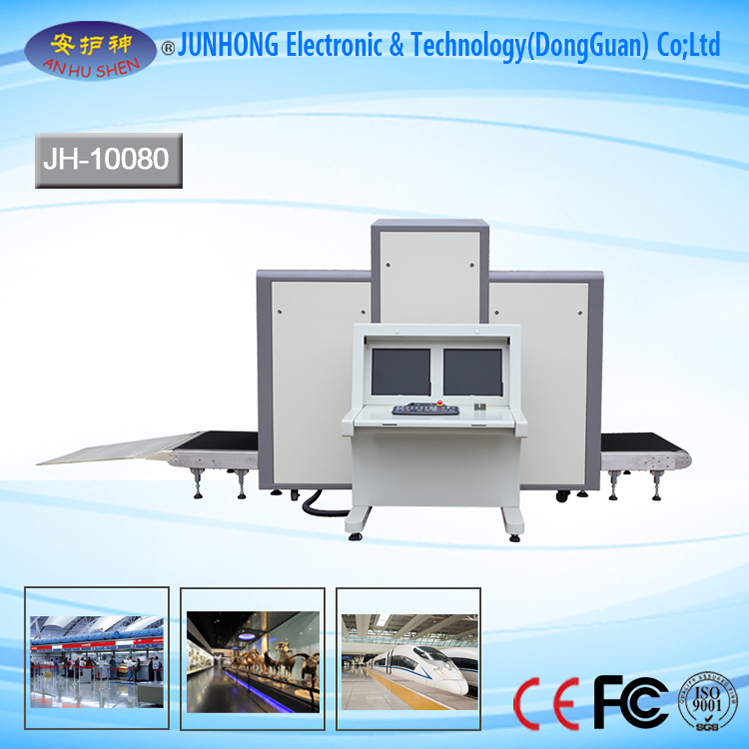 Intelligent Color Images X-ray Screening Machine