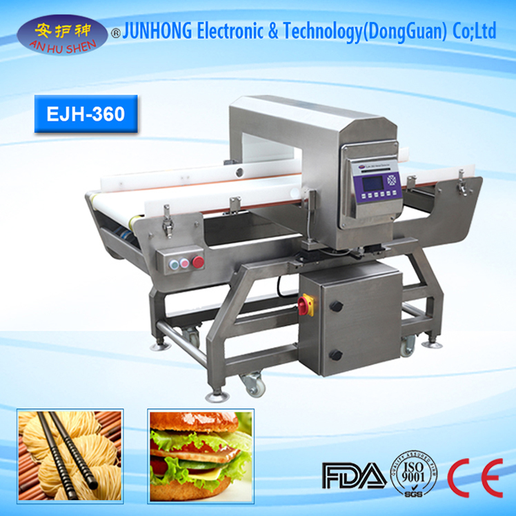 Food Security Conveyor Belt Metal Detector