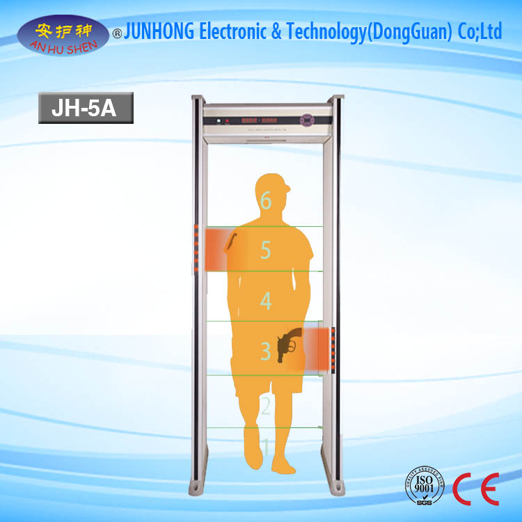 Inspection Certificate Walkthrough Metal Detector Door