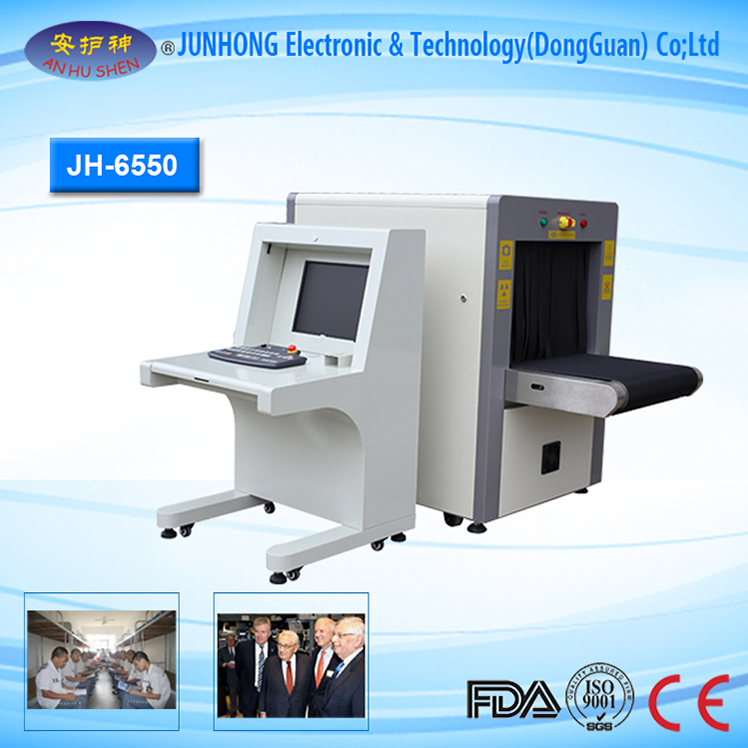 Big Conveyor Load X Ray Scanner Machine