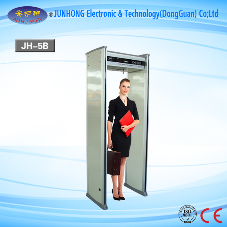 LCD Screen Metal Detector Walk Through Door