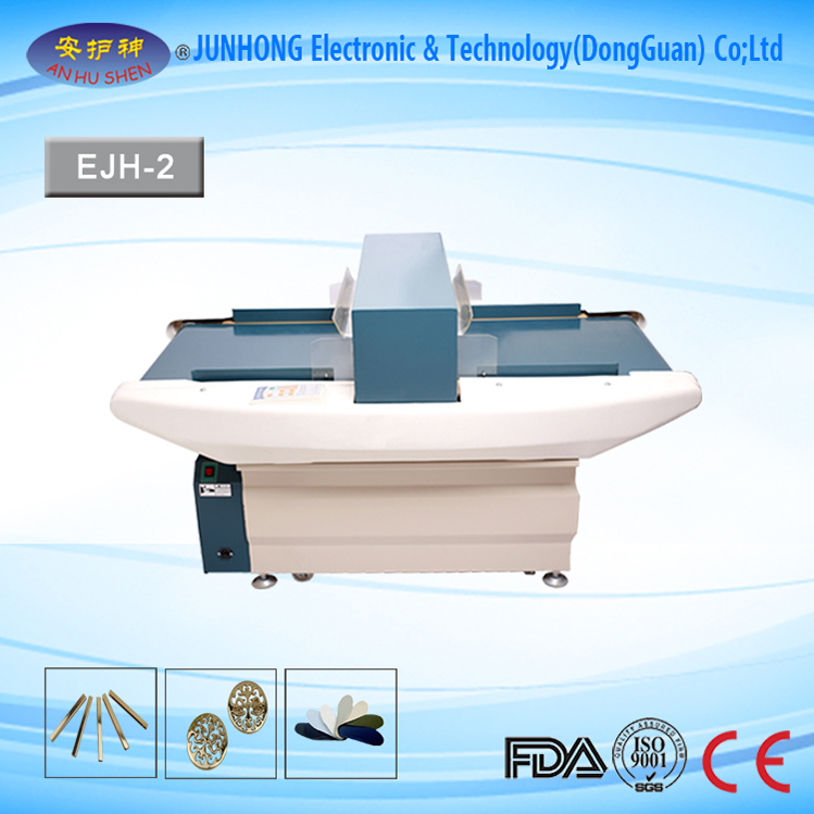 Auto-Conveying Metal Detector for Garment