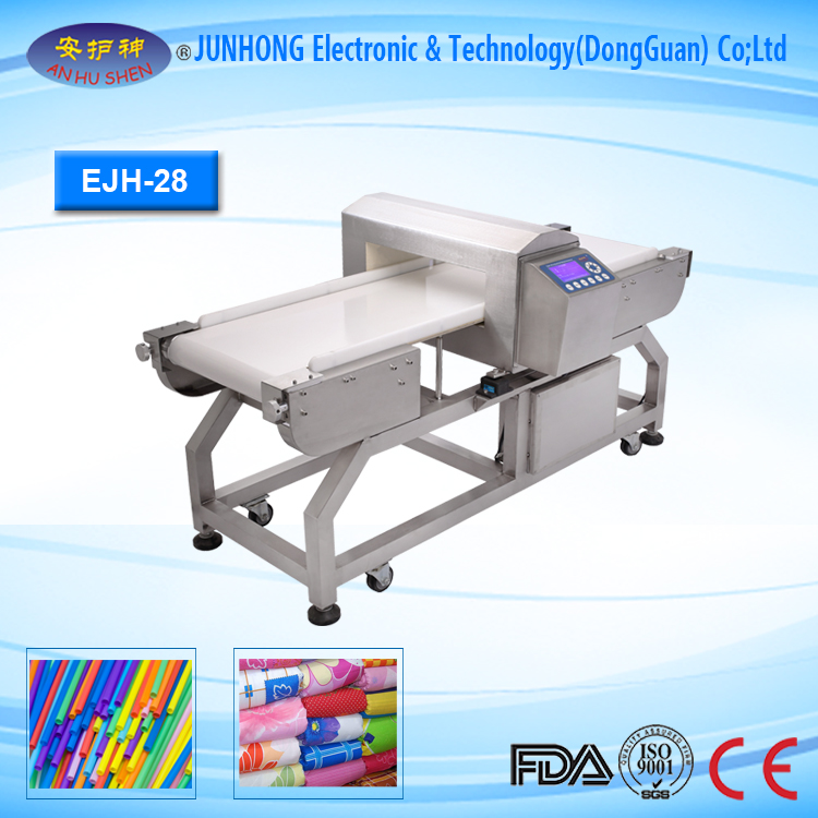 HACCP ISO and FDA Certification Metal Detector