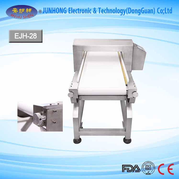 Conveyor Belt Metal Detector For Plastic Industry