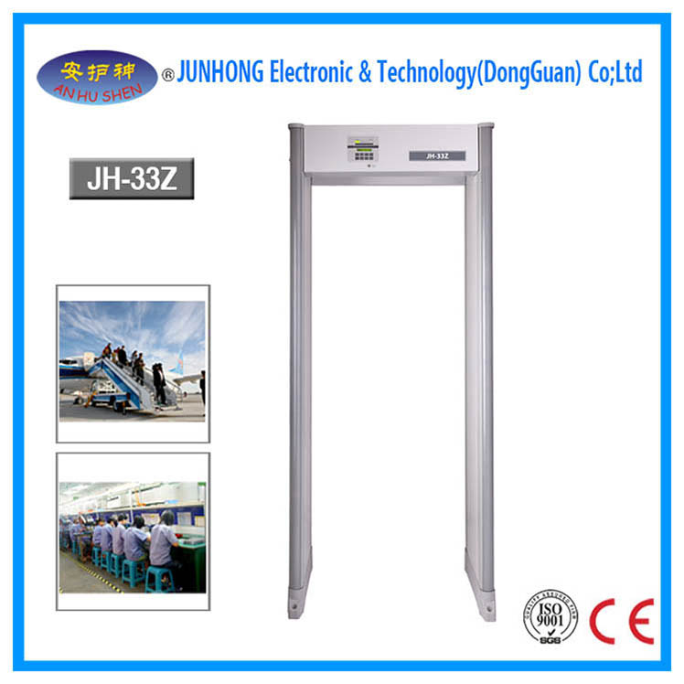 IEC Standard Walkthrough Metal Detector