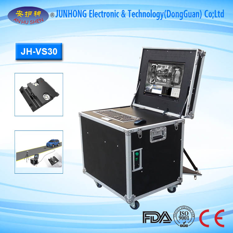 Portable Under Vehicle Security Scanning System