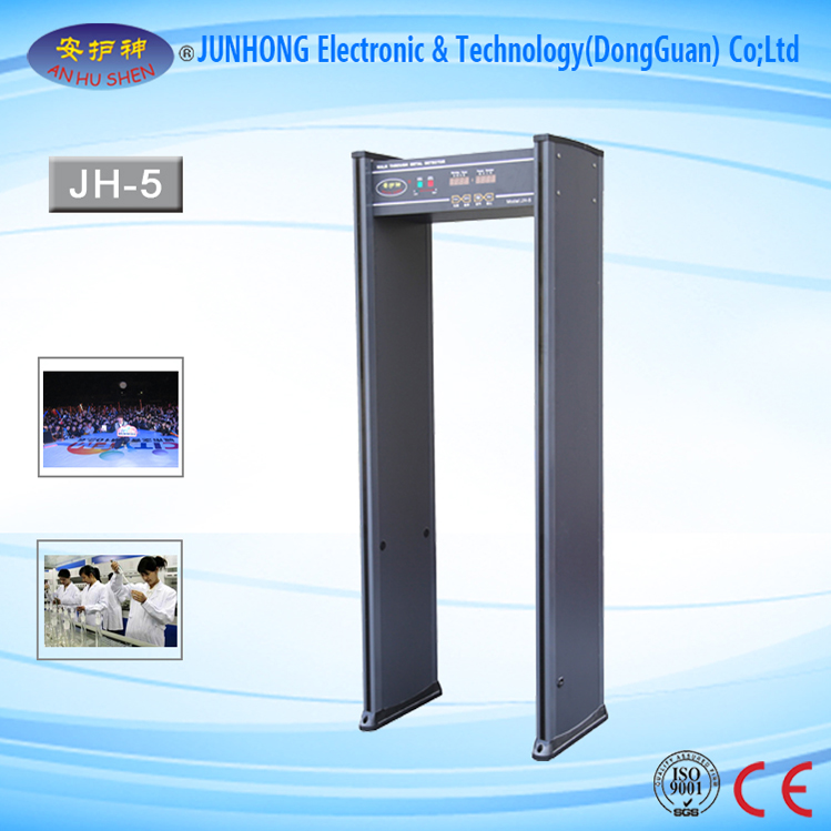 Walkthrough Inspection Metal Detector For Passenger