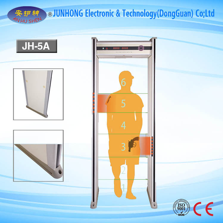 Walkthrough Metal Detector With Accurate Location