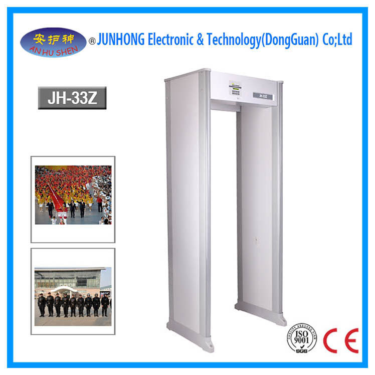 Traffic Alarms Security Body Scanner Gate