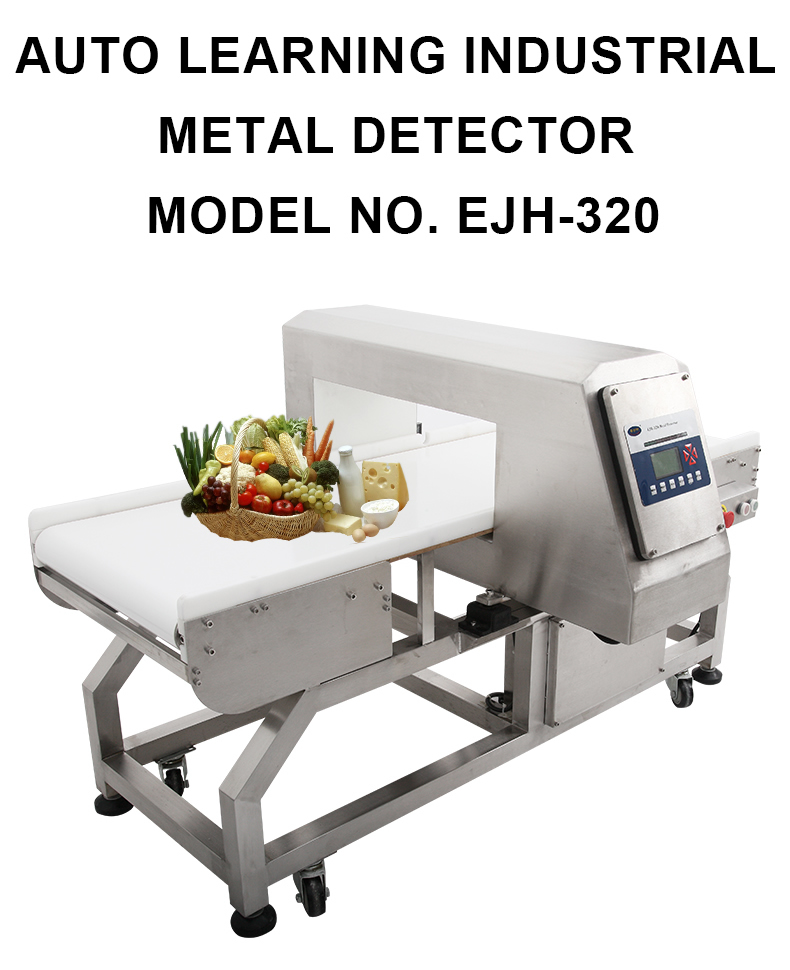 EJH-320 Auto Learning Metal Detector Machine