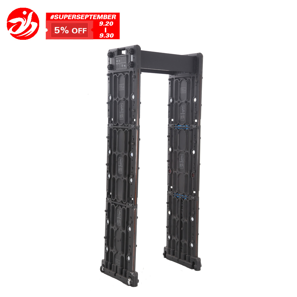 Foldable Portable Walk Through Metal Detector for Events