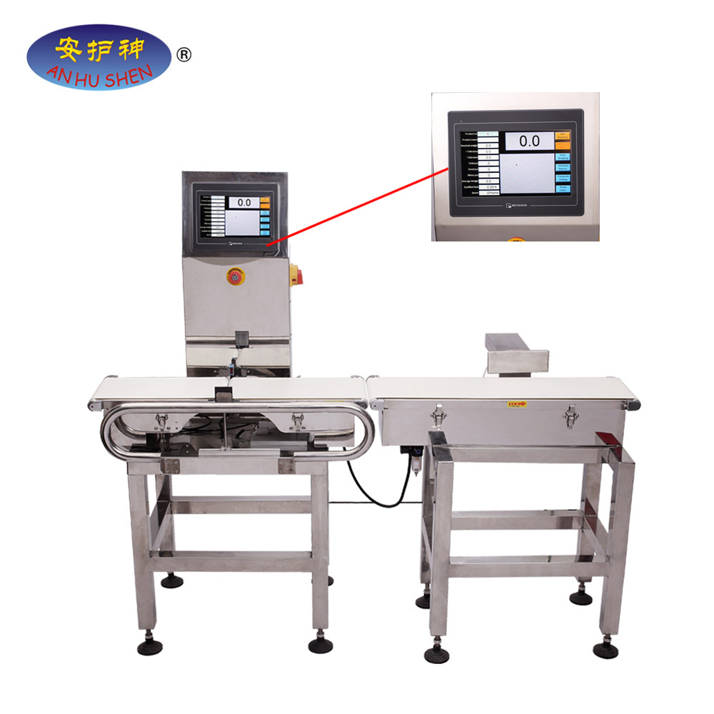Industria alimentaria Machine Check Weigher