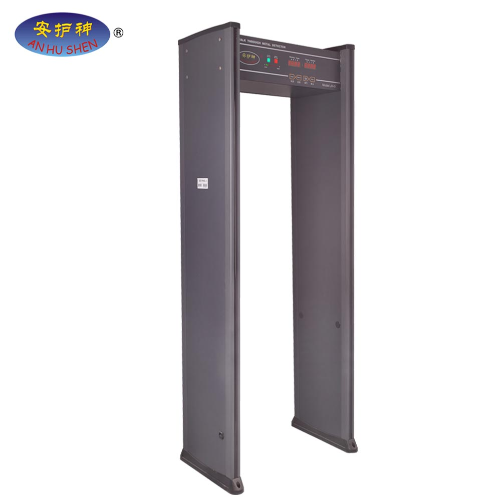 A  walk though metal detector with high quality and good sensitivity