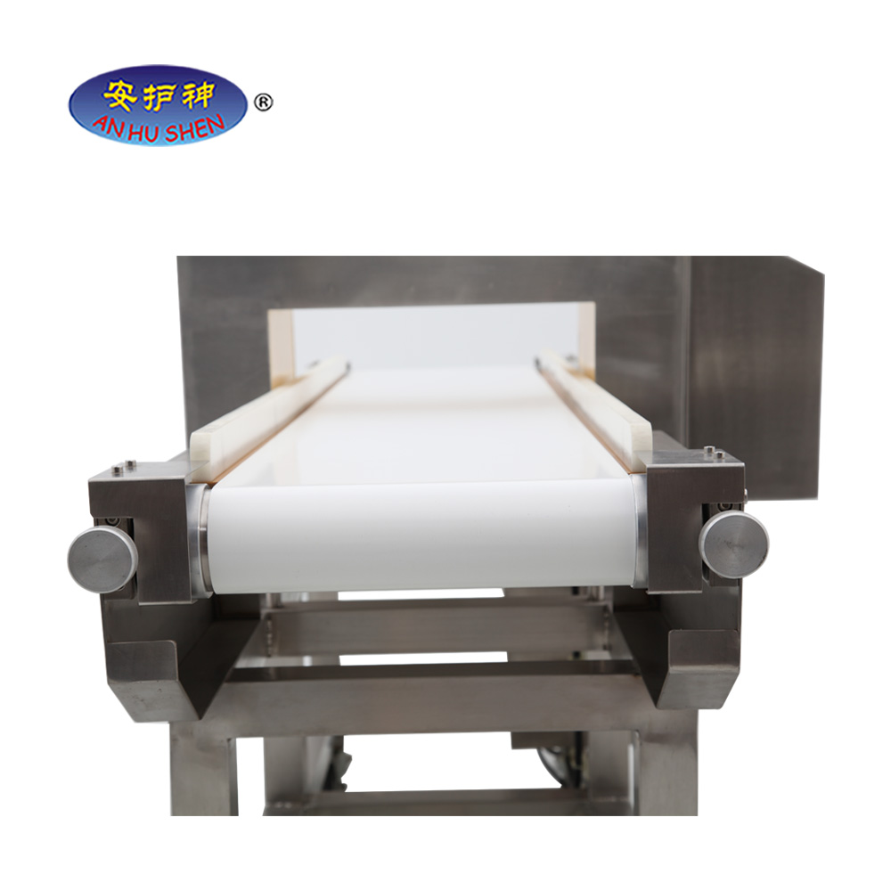 Food processing machine, conveyor belt metal detector