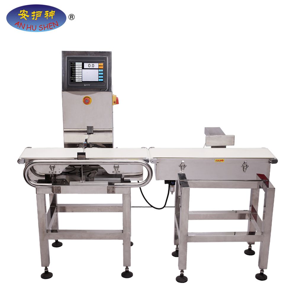 Automatic check weigher with Reject system Reject Arm/Air Blast/ Pneumatic Pusher