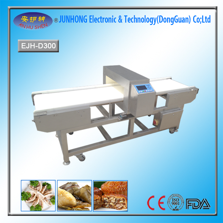 HACCP standard sticky food metal detector