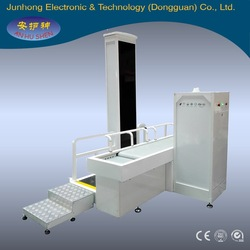 dual view x-ray baggage scanner