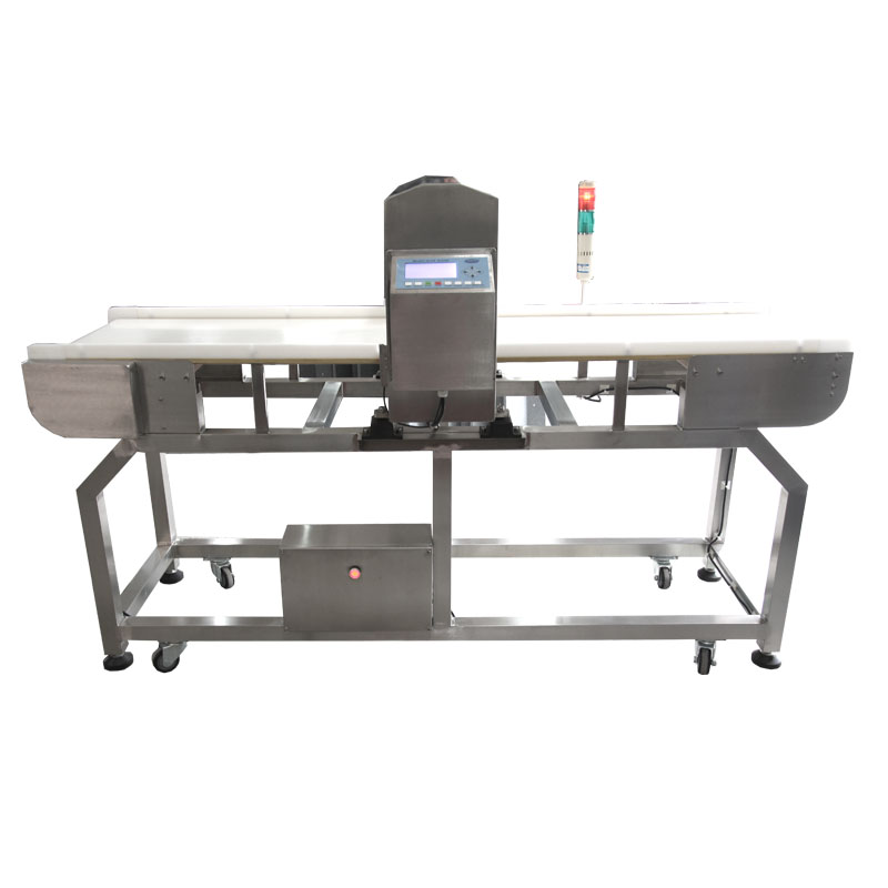 PLC control industry rejector system metal detector for food or plastic