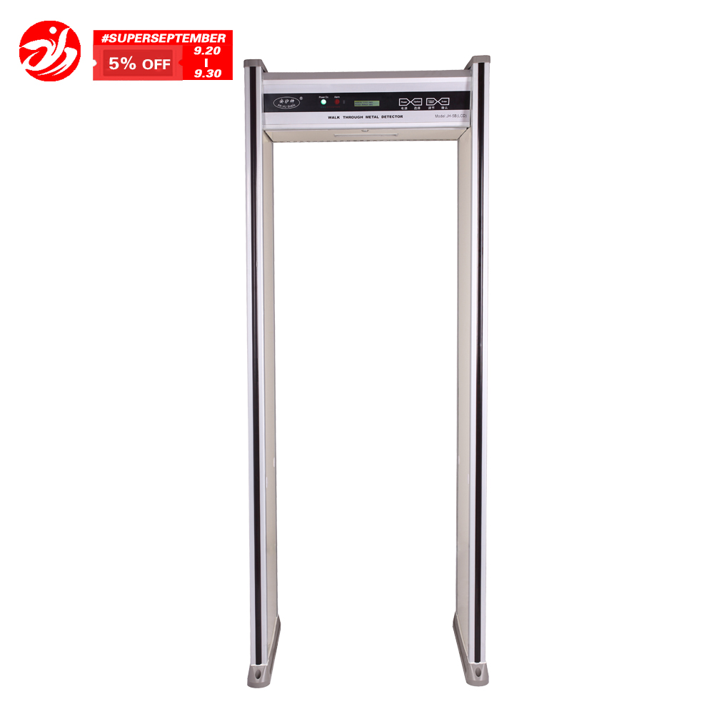 Security Walk Through Metal Detector (waterproof) with LED display