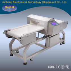 Metal detector for rubber industry