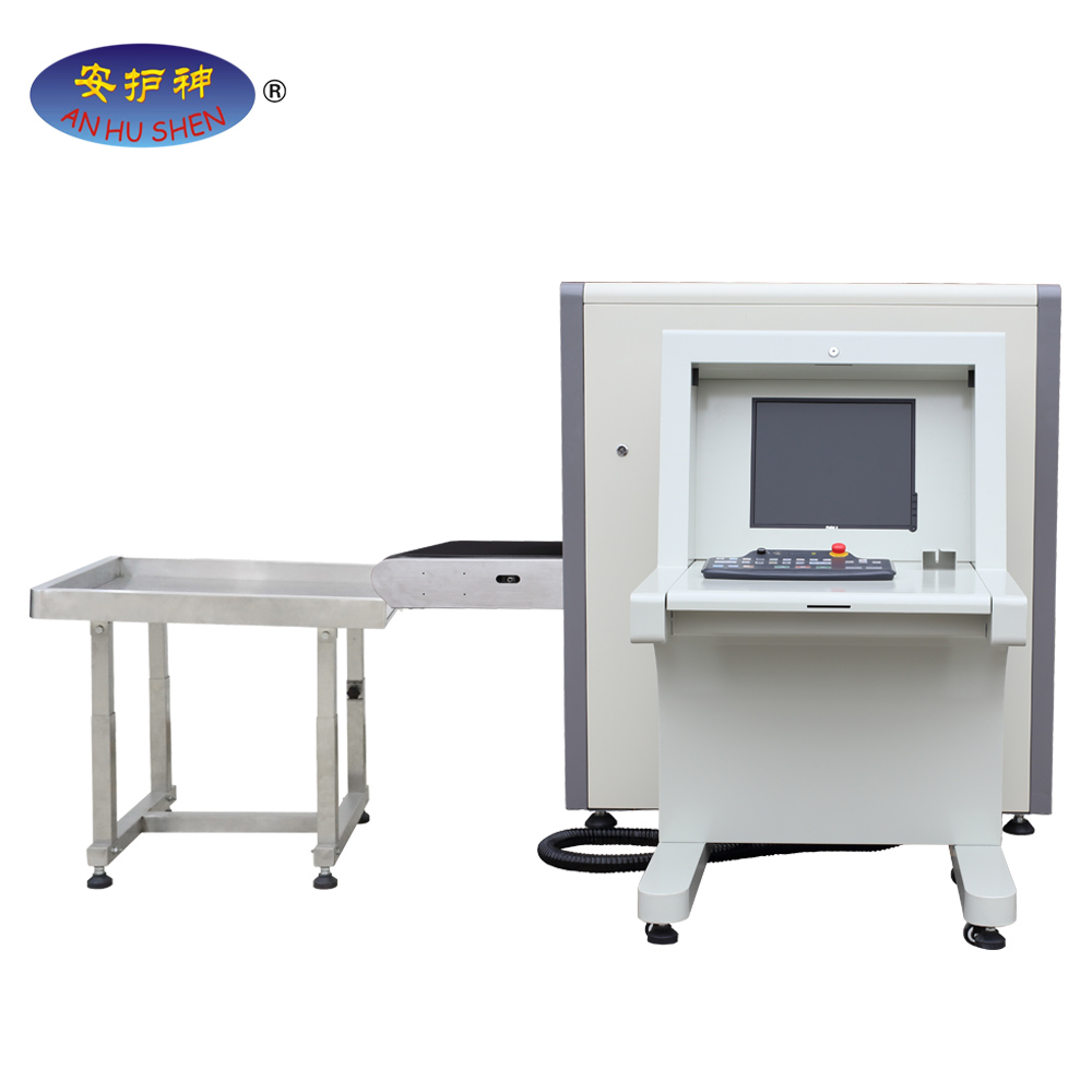 checked 100kg baggage security 160KV generator x ray scanning machine JH-6550
