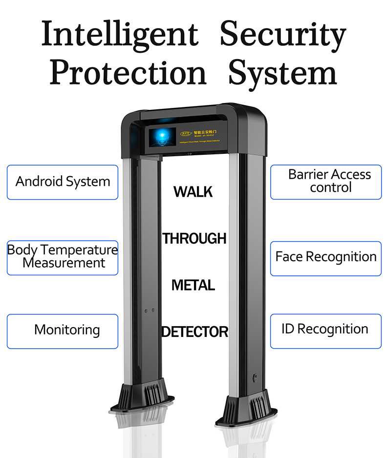 JH-9045Z Intelligent Walk Through Metal Detector
