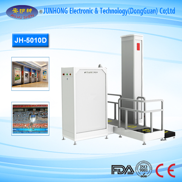 Wide Range X-Ray Scanner with Contious Inspection