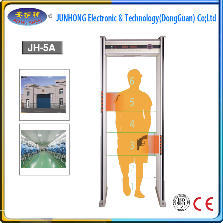 Metal Detector Walkthrough Gate