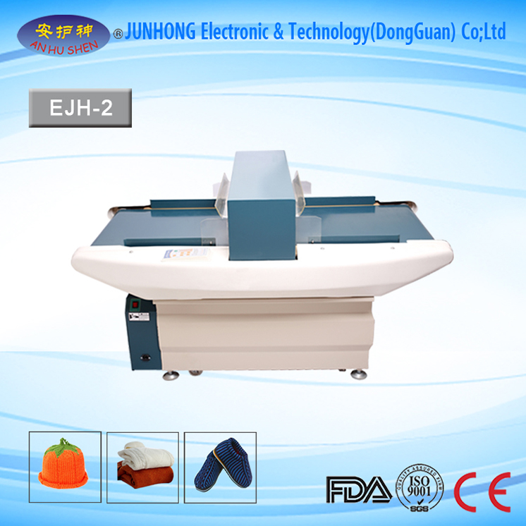 Auto-Conveying Professional Garment Metal Detector