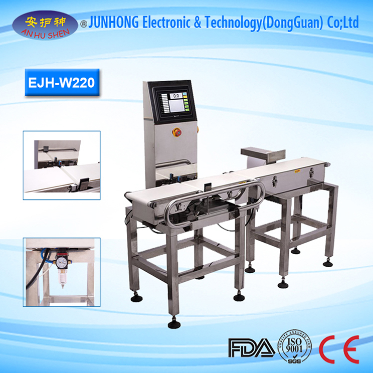 Touch Screen Check Weigher Machine for Weight