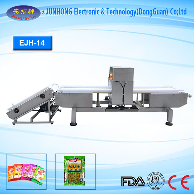 Seafood Security Checking Online Conveyor Metal Detector
