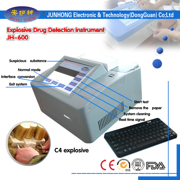 Drugs Detector with Two Detection Modes