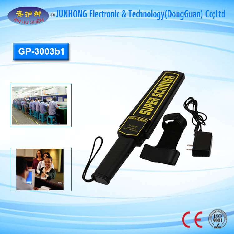 Hand Held Metal Detector For Security