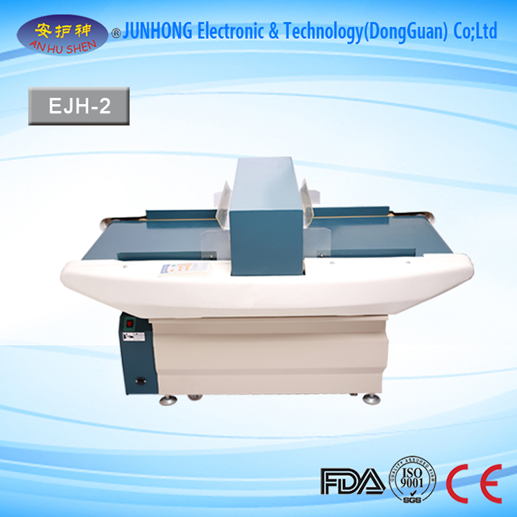 Return Back Conveyor Belt Metal Detector