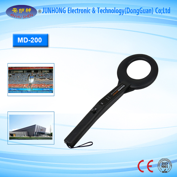 Simple Safety Hand Held Metal Detector For Gun