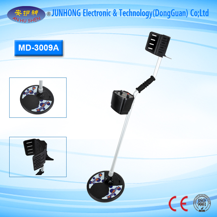 Super Sensitivity Underground Metal Detector with Stability