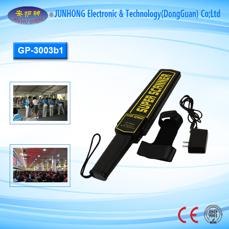 2017 Hand Held Metal Detector for Medicine