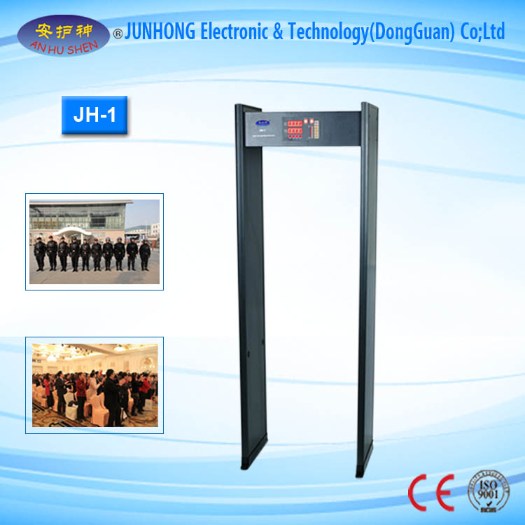 6 Zone High Sensitivity Walkthrough Metal Detector