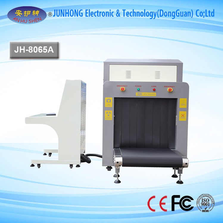 X-ray Baggage Scanner with Confortable Design
