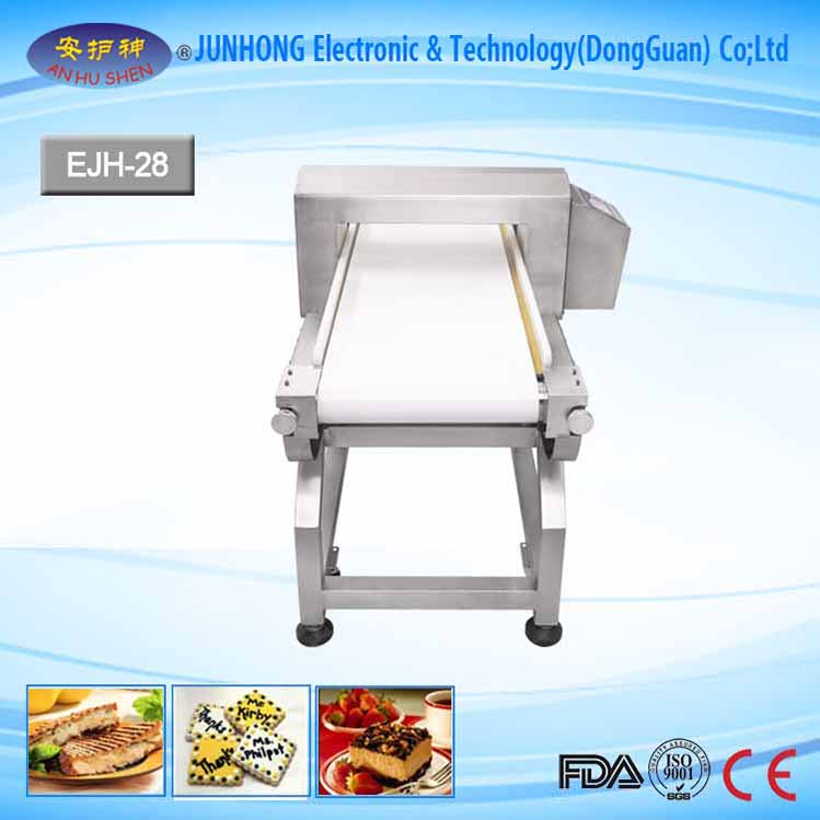 Adjustment Speed Food Metal Detector with Rejector System