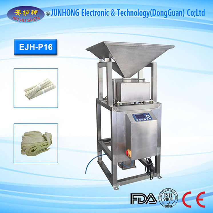Easily Operate Metal Detector for Granule Products