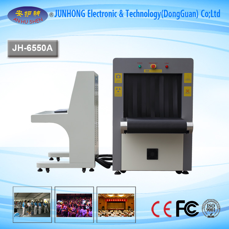 6550 X Ray Luggage Scanner Inspection Systems Machine